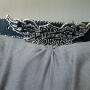 Womens Harley Davidson designer belt